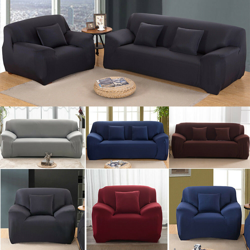 Stretch Couch Sofa Lounge Covers Recliner 1 2 3 4 Seater