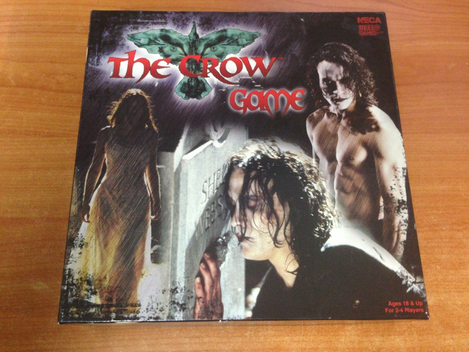 The Crow Movie Board Game  100% Complete