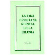 Vida cristiana normal de la iglesia, La, Watchman Nee, 0870834959, Book, Accepta