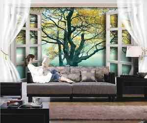 3D Beaux Arbre 67 Photo Papier Peint en Autocollant Murale Plafond Chambre Art