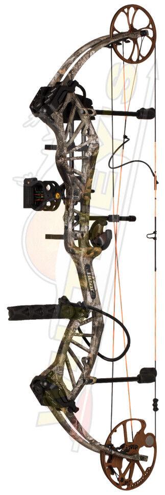 Frojo Bear Archery enfoque Arco-Realtree Camo Borde-Paquete de mano derecha 55-70  23.5-30.5