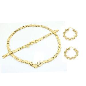 Image Is Loading I Love You Hugs And Kisses Necklace Bracelet