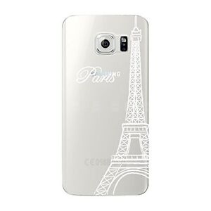 Hull-soft-gel-unbreakable-pattern-fantasy-for-Galaxy-NOTE-4-Tour-White