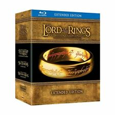 The Lord of the Rings: Motion Picture Trilogy - Extended Edition [Blu-ray] NEW