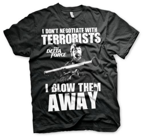 Licence Officielle Chuck Norris-Je souffle terroristes Away tee-shirt Homme S-XXL