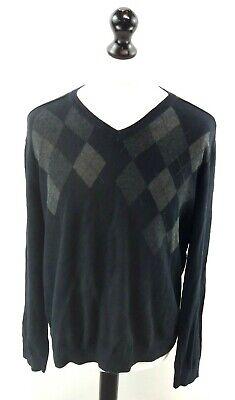 Calvin Klein Maglione Pullover Da Uomo Nero Xl Cotone-mostra Il Titolo Originale