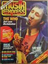 MUSIKEXPRESS 6 - 1981 (2) Who Ideal Tubes Stray Cats Red Speedwagon Judy Mowatt