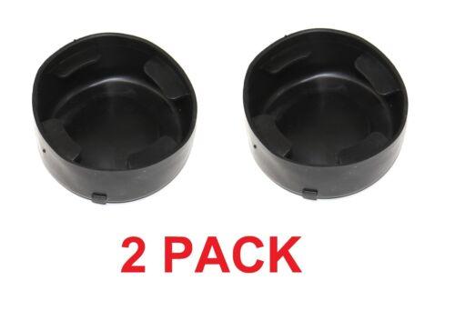 """2PK 41000 Cup Holder Insert 3/"""" 2002-2009 Bravada GMC Envoy Trailblazer 88986013"""
