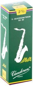 Vandoren-SR2725-Tenor-Sax-JAVA-Reeds-Strength-2-5-Box-of-5