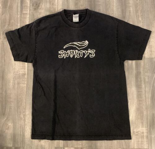 Vintage 90s Shortys Skateboard Tee Shirt Size Larg