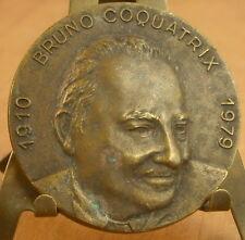 Médaille Bruno Coquatrix 1910-1979  Medal 勋章 Maire de Cabourg 1971-1979