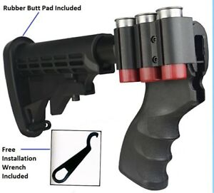 Details about 870 Shotgun Pistol Grip Adjustable Stock W/Recoil Pad &Free  Wrench For REMINGTON
