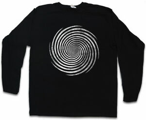 HYPNO-SPIRAL-I-LONG-SLEEVE-T-SHIRT-Spiral-Labyrinth-Mystic-Hypnotic-Circle