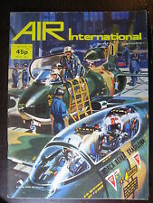 AVIATION  AIR INTERNATIONAL JULY 1976  SABRELINER IAR 80 AUSTRALIAN AIR GLIDER