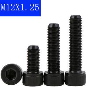 x 1.25 x 70mm Metric Fine Bolt 12.9 Black 10pc Cap Screw Socket Head M10 10mm