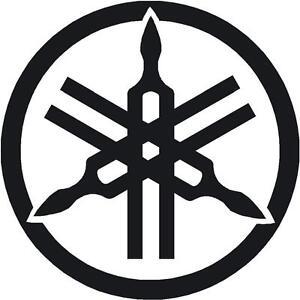 yamaha logo sticker tuning fork 110mm 4 3 quot  r1 r6 yzf xjr yamaha logo vector yamaha logo sticker