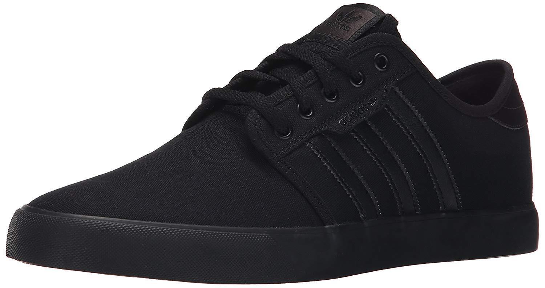 Adidas originali uomini seeley pattinare scarpa, nero / milioni nero / nero, 10 milioni / di noi 87402f