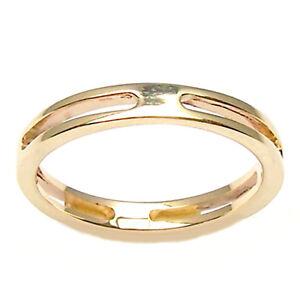 Anillo Compromiso Para Hombre O Mujer De Oro Amarillo 18 Ct Ebay