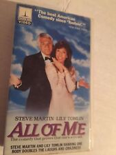 ALL OF ME, STEVE MARTIN, LILY TOMLIN, VHS, HARD CASE,  THORN EMI