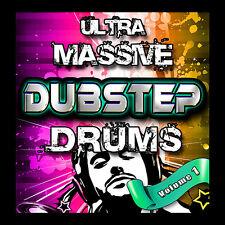 BIG Dubstep Drum Kit  Samples Pack Logic EXS24 KONTAKT Fruity Loops Ableton WAV