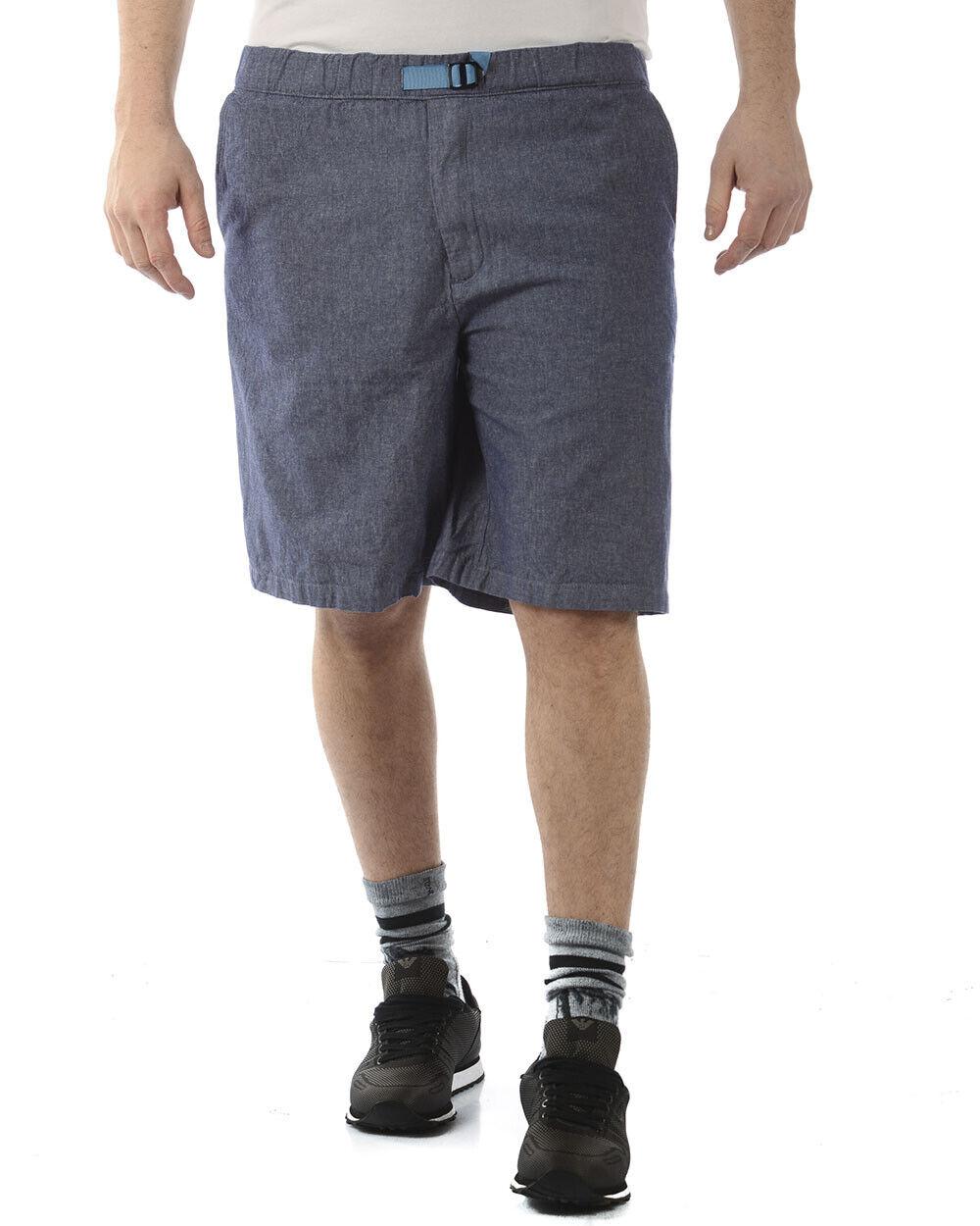 Bermuda Daniele Alessandrini Short Cotone Uomo Blu E299S20143702 123