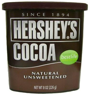 Hersheys Hershey's Cocoa Natural Unsweetened Powder | 8oz | 225g