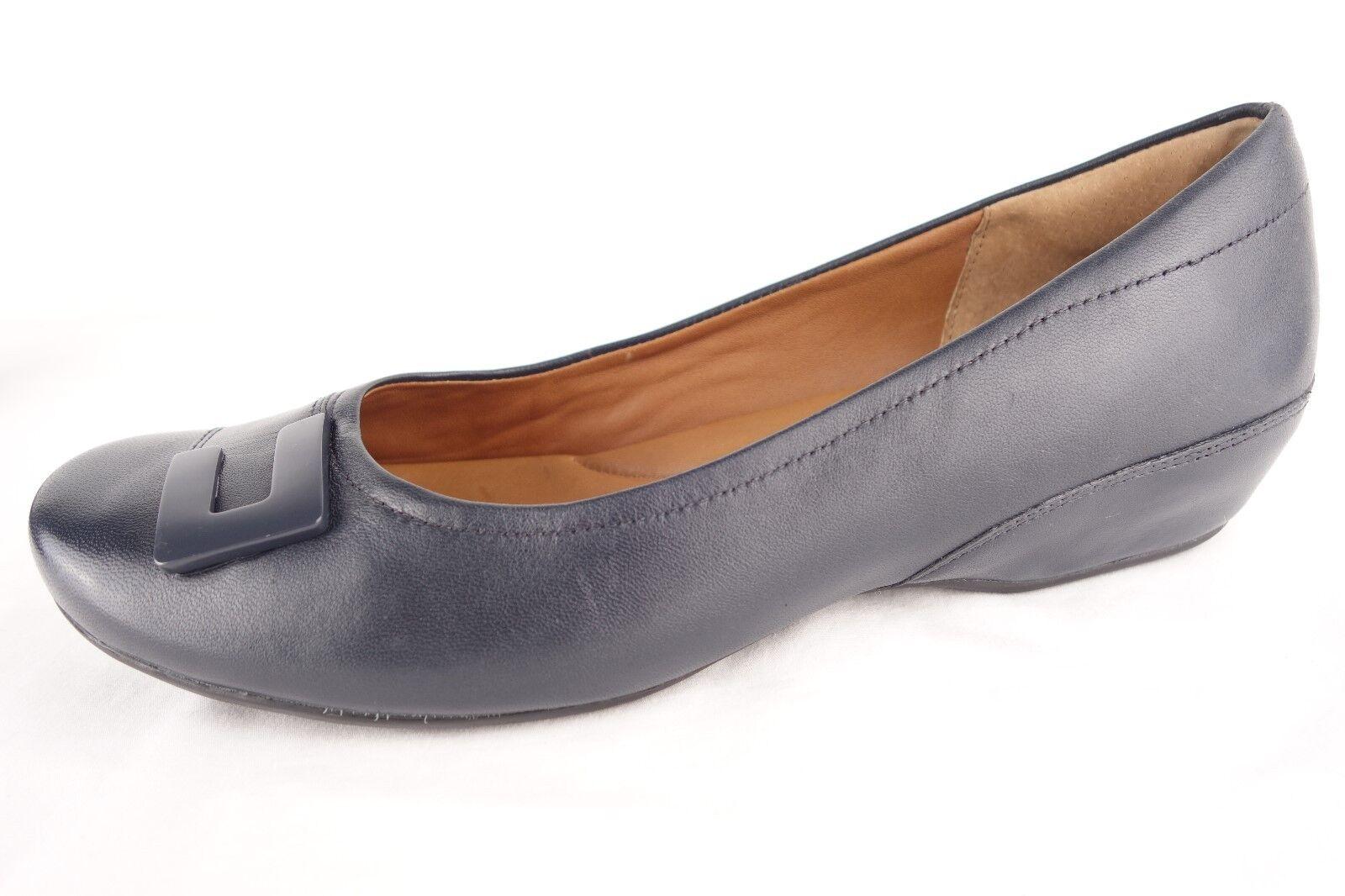 Clarks Artisan Zapatos Azul Cuero Zapatos Bajos Zapatos Artisan Mocasines Mujer 8 0b680e