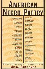 American Negro Poetry : An Anthology (1995, Paperback)