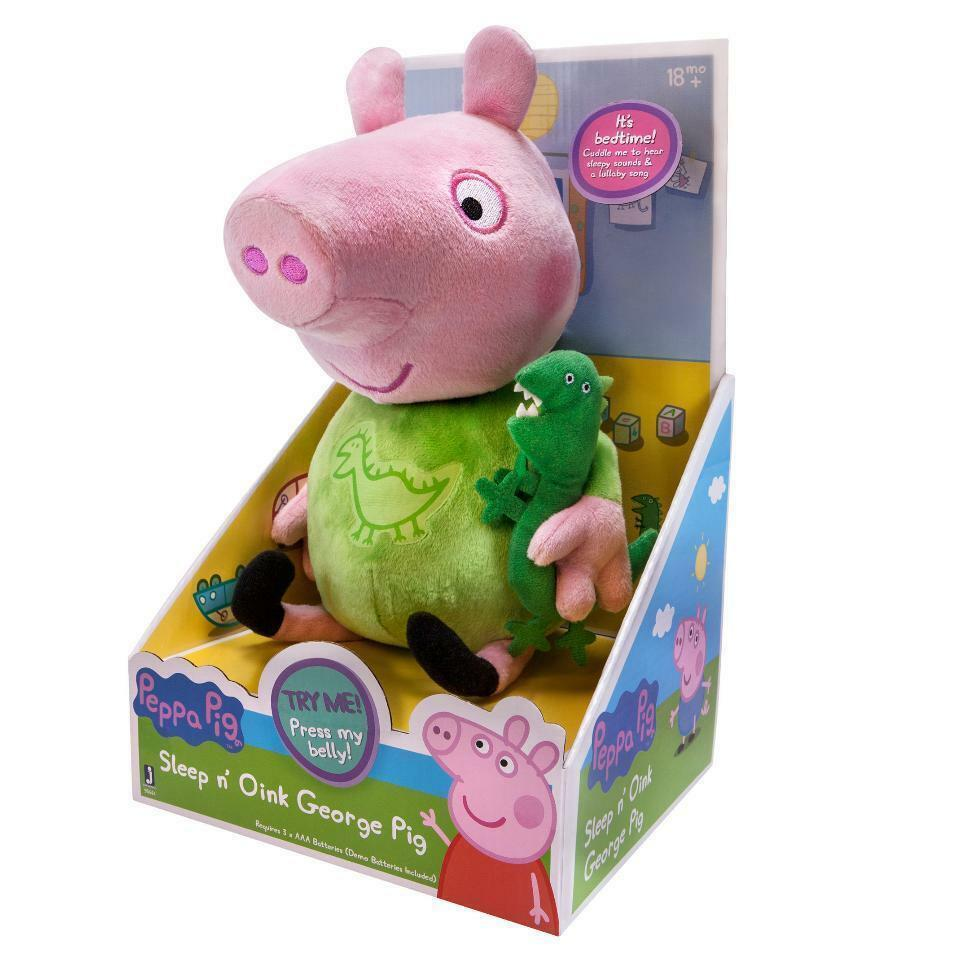 GEORGE & FRIENDS SOFT PLUSH TOYS 6-7 LOTS TO CHOOSE TY PEPPA PIG BRAND NEW
