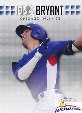 (10) 2013 Leaf Rize DRAFT Kris Bryant ROOKIES MINT Cubs World Champion MVP!