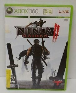 Ninja Gaiden 2 II - XBOX 360 Game - Rare  Complete Tested and Working
