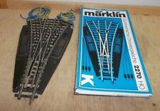 Märklin HO El Dreiweg-Weiche 2270,neuwertig in Originalverpackung geprüft!