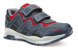 14082b4ab Geox J Pavel A Boys Navy/Red Trainers - 100% Positive Reviews | eBay