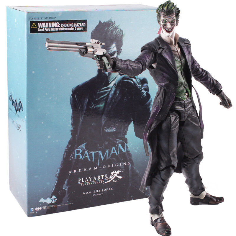 Batman arkham herkunft spielen kunst kai der joker actionfigur modell.