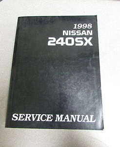 1998 nissan 240sx service repair manual ebay rh ebay com 1995 nissan 240sx service manual 1995 nissan 240sx service manual