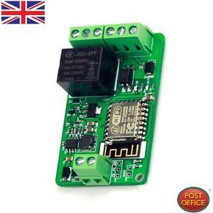 Details about DC 7-30V ESP8266 WIFI Relay Module ESP-12F Network Relay  Module 220V 10A