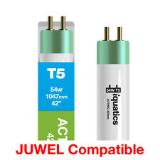 "IQuatics ACQUARIO 54w Juwel Compatibile t5 Lampadina-ATTINICO 420nm - 1047mm/42"""