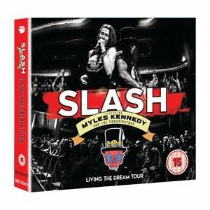 SLASH-LIVING-THE-DREAM-TOUR-Blu-Ray-2CD-Region-2