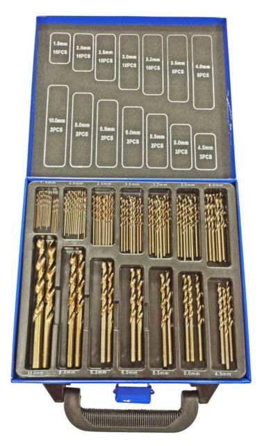 Cobalt Drill Bits Set for Stainless Steel M35 Metal HSS-Co 99pc Cobalt Bits M35