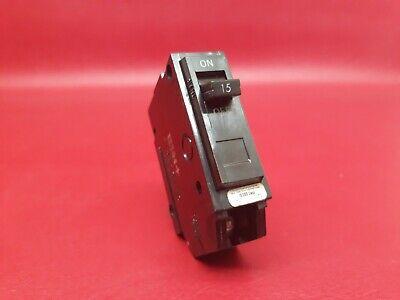General Electric GE TQL1115 1 Pole 15Amp 120//240Volt Circuit Breaker Type TQL-AC