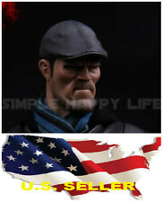 1/6 scale leather Lvy Hat Peaked Cap for hot toys phicen figure ❶US seller❶