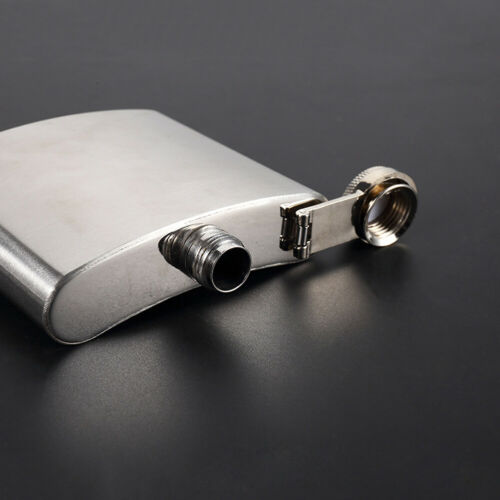 Sale 6Pcs 7oz Stainless Steel Hip Flask Whiskey Liquor Alcohol Bottle Dad Gift