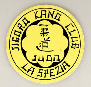 PRL) JUDO JIGORO KANO CLUB LA SPEZIA ADESIVO COLLEZIONE STICKER COLLECTION