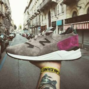 Image is loading new-balance-M999RD-SUEDE-US-MENS-SIZES-GREY 4fcd8bdfc