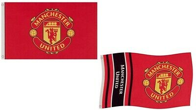 Manchester United Flag Official Merchandise Man Utd 152cm X 91cm Red Ebay