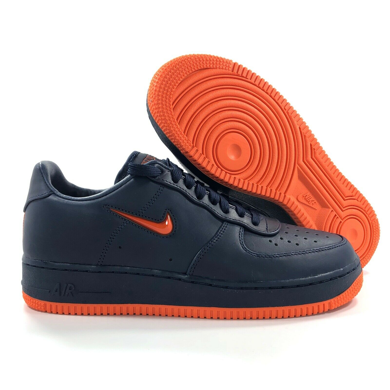 Nike Air Force 1 Low Retro PRM QS NYC Finest Navy Blue AO1635 400 Men's 10