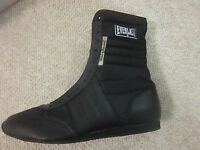 Everlast 10 Black Boxing Shoes Vintage 4432 Old Stock Shoes 11.5