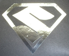 CHROME SUZUKI MAN SUPERMAN DECAL//STICKER