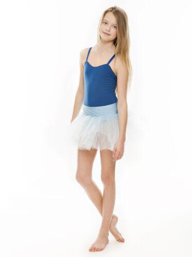 All Colours Girls Childrens Ballet Dance Cotton Camisole Leotard KDC020 By Katz