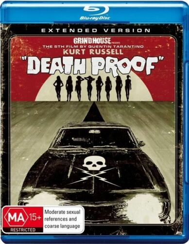1 of 1 - Death Proof (Blu-ray, 2009, 2-Disc Set) New, ExRetail Stock (D137)